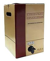 Коробка bag in box 10L с вашим логотипом (под ключ)
