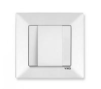 Заглушка для вывода кабеля белая Viko Meridian