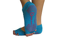 Носки для йоги RAO нескользящие Бирюзовые 000001078, КОД: 270268