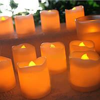 Светодиодных свечей 24 шт