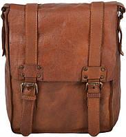 7da77eb42d02 Винтажная сумка мужская кожаная Ashwood Leather 7995 Rust коричневая