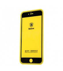 Защитное стекло Baseus Profit Glass Screen 3D ARC для iPhone 6 Plus 6S Plus Black 1112006, КОД: 132352