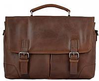 68105b662548 Сумка-портфель мужская для ноутбука и документов кожаный Ashwood Leather  Elliot Tan коричневая