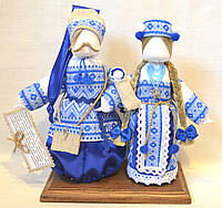 Кукла-мотанка КЛЮЙ Неразлучники Солоха и Захар 25 см Разноцветная K0023NSZ, КОД: 182775