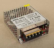 Dilux - Блок питания 36Вт,12В, 3А, негерметичный IP20, Premium класс, гарантия 2года.