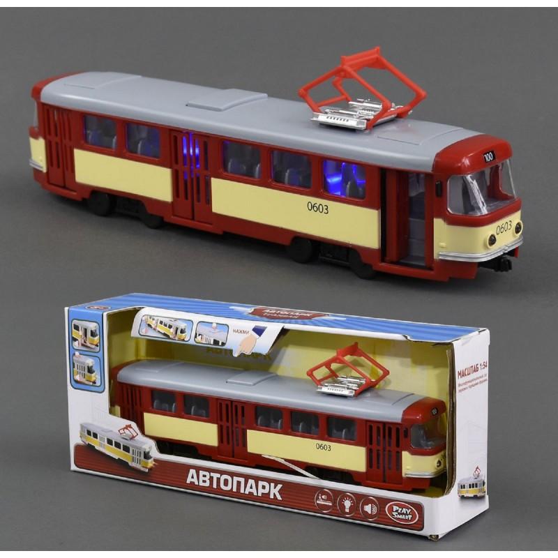 "Трамвай Play Smart 9708-D ""Автопарк"""
