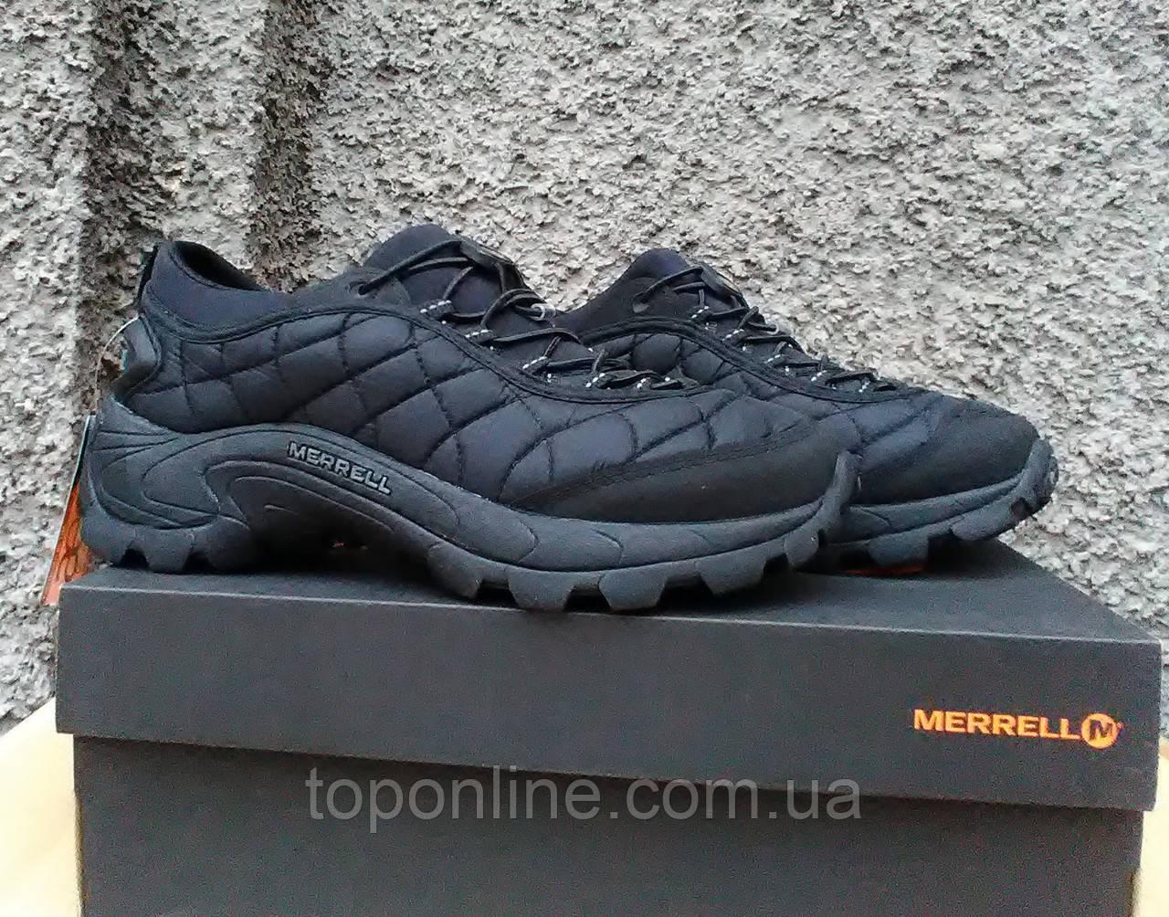 Мужские полуботинки Merrell Ice Cap Moc II Stretch черные - TopOnLine –  обувной интернет-магазин 932ee6a4233e2