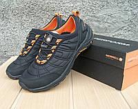 5578d6550988 Мужские полуботинки Merrell Ice Cap Moc III Stretch черно оранжевые