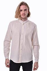 Вышитая мужская сорочка 2KOLYORY Сила XL Молочный 4002-XL, КОД: 276425
