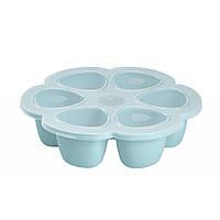 Силиконовый многопорционный контейнер Beaba 90 ml blue, арт. 912493, КОД: 147122