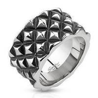 Кольцо SPIKES мужское из нержавеющей стали R-Q7025-10