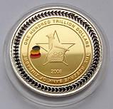 Зимбабве. 100 триллионов долларов 2008. Big Five. Limited Edition., фото 2