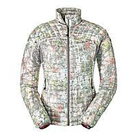 Куртка Eddie Bauer Womens MicroTherm StormDown Jacket Print CHROME S Серый 1142CH-S, КОД: 259874