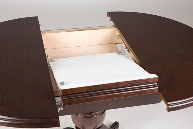 Стол обеденный Гермес орех (фото 5)
