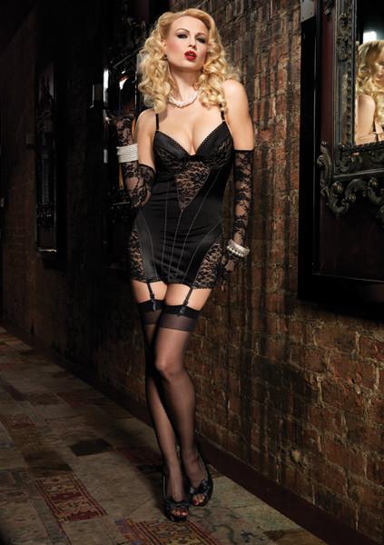 Платье Leg Avenue с кружевной отделкой, КОД: 277695