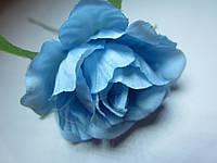 Роза распущенная голубая, диаметр цветка 5 см, фото 1