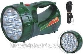 Фонарь светодиодный аккумуляторный 2803