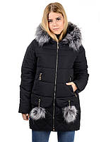 Женская зимная куртка IRVIC N15174 42 Черный IrC-N15174-42, КОД  261033 533978f0f51