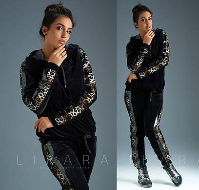 30497fdbb37b Роскошный велюровый спортивный костюм. Чёрный, 3 цвета.  продажа ...