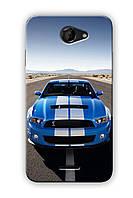 Чехол для HTC Desire 516 (Машина)