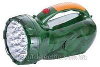 Фонарь светодиодный аккумуляторный 2807