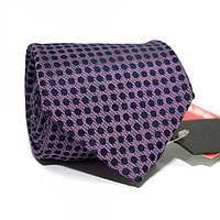 Галстук Фиолетовый В Синий Горошек Gin-2270, КОД: 187909