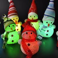 LED Светильник  Снеговик отличный подарок, фото 1