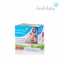 Салфетки Brush-Baby Dental Wipes, 28 шт.
