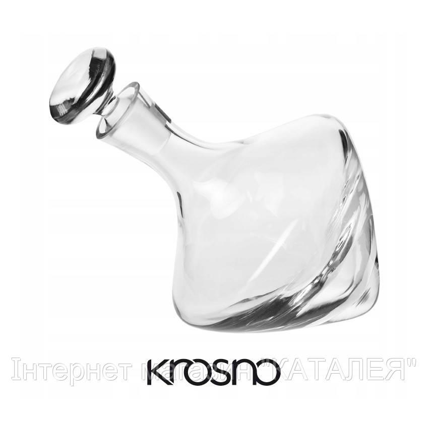 Графін для віскі Vintage KROSNO HANDMADE 1000 мл