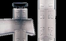Стеллаж Бюджет (2000х1000х400) оцинкованный на зацепах, 5 полок, ДСП, 175 кг/полка, фото 3