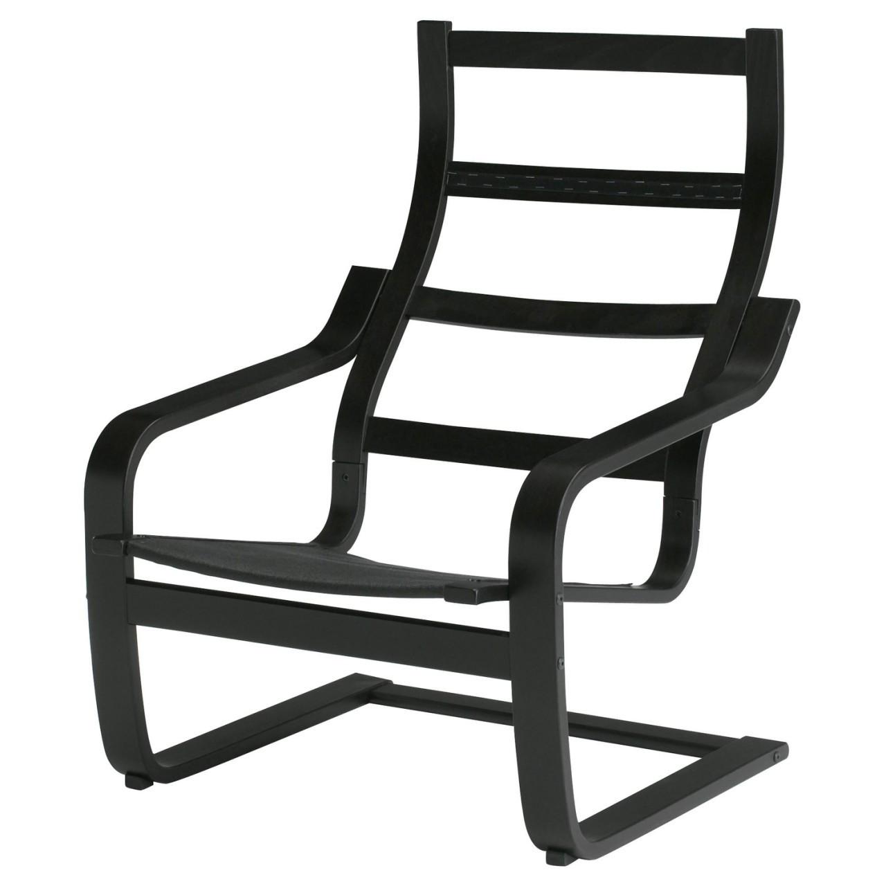 каркас кресла Ikea Poäng черный 200 698 52 купить по лучшей цене в киеве от компании Dom Ikea интернет магазин мебели и товаров икеа Ikea