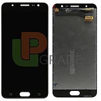 Дисплей для Samsung G610 Galaxy J7 Prime/Galaxy On Nxt + тачскрин, черный, копия хорошего качества