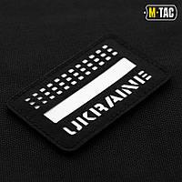 M-TAC НАШИВКА UKRAINE LASER CUT СВЕТОНАКОПИТЕЛЬ/BLACK, фото 1