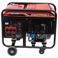 Дизельный генератор Weima WM 12000CE3 (12 КВТ, 3 ФАЗЫ, ЭЛЕКТРОСТАРТЕР) Бесплатная доставка !!!
