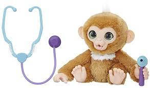 """Интерактивная игрушка HASBRO FurReal Friends """"Вылечи обезьянку"""""""