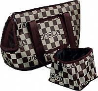 Trixie TX-36223 сумка-переноска Chess Carrier для кошек и собак