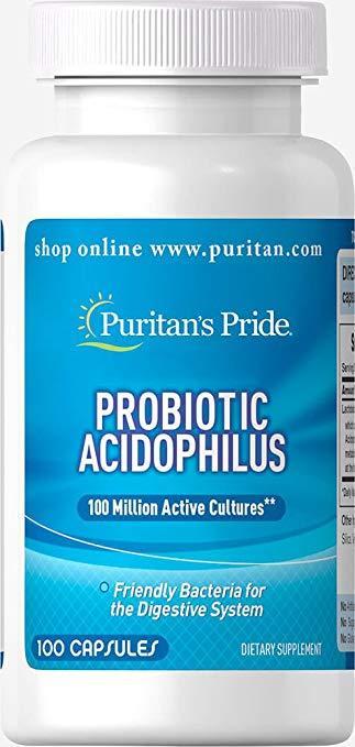 Puritan's PrideProbiotic Acidophilus 100 caps