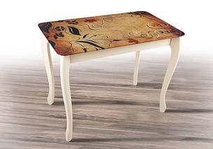 Стол обеденный Смарт со стеклом, фото 3