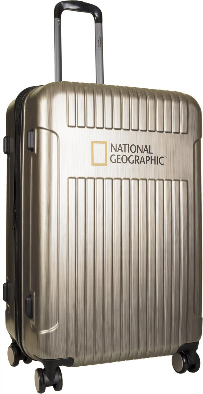 Чемодан National Geographic Transit N115HA.71;15 шампань большой
