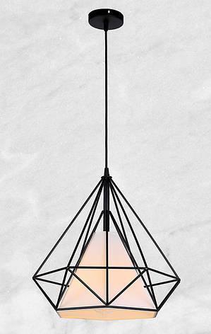 Металлический подвес в форме кристалла 38см, фото 2