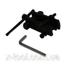 """Съёмник двухзахватный """"рельс"""" усиленный 15-25mm HESHITOOLS HS-E1136 (Китай)"""