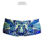 New! Хлоростойкие плавки для мальчиков Funky Trunks Sea Wolf FT32, фото 1