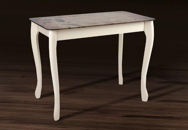 Стол обеденный Смарт со стеклом (фото 2)