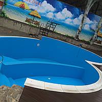 Монтаж ПВХ плёнки для бассейнов