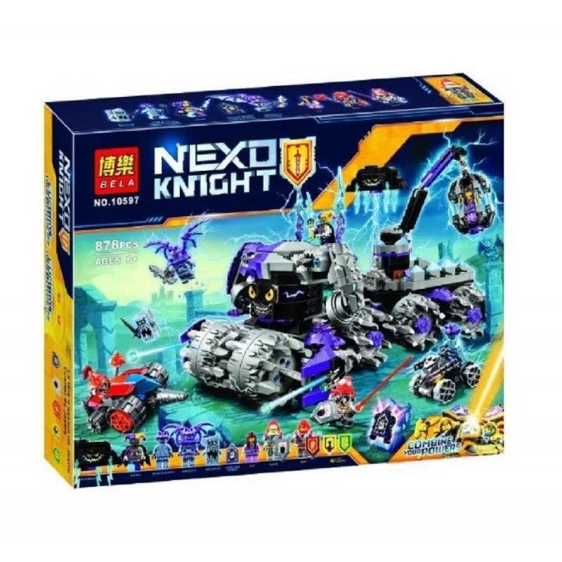 "Конструктор ""Штаб Джестро"" Bela 10597 Nexo Knights 878 деталей"