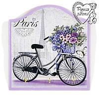 Ключниця Прованс велосипед, маленька 18* 17 см