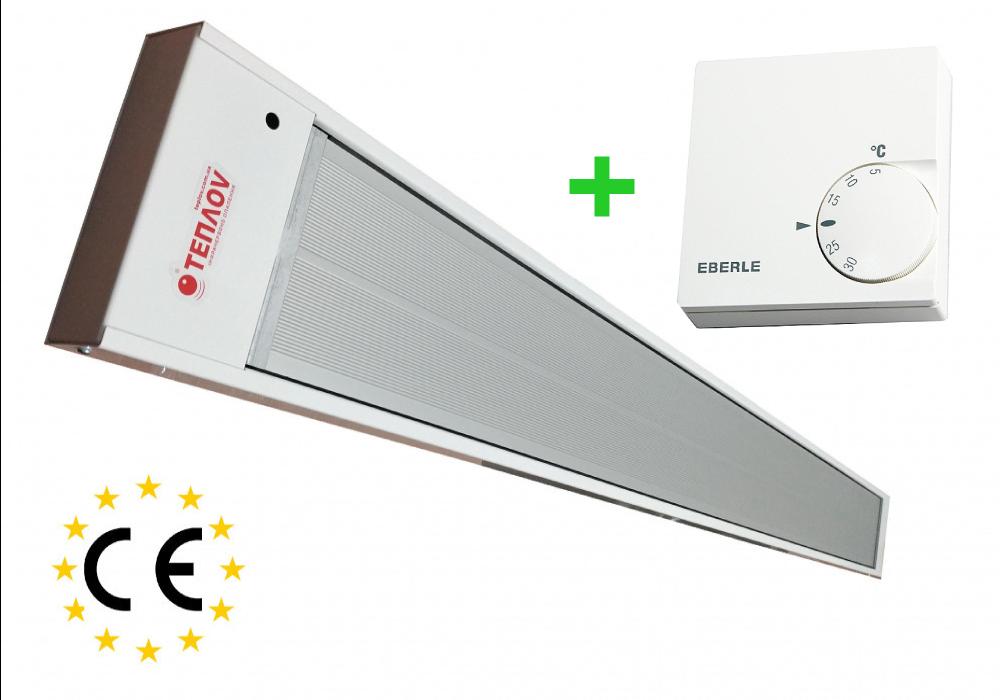 Инфраркрасный потолочный обогреватель с терморегулятором Теплов Б600