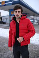 "Мужская куртка зимняя Intruder ""Impression"" красная (раплика)"