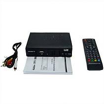 Цифровой эфирный DVB-T2 приемник, тюнер, T2 с дисплеем и тюльпанами PR4, фото 2