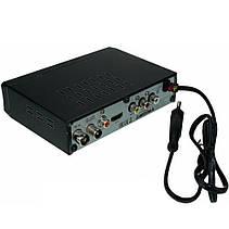 Цифровой эфирный DVB-T2 приемник, тюнер, T2 с дисплеем и тюльпанами PR4, фото 3